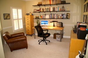 Clutter free home office
