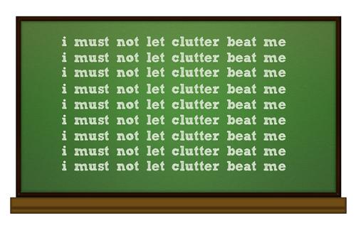 Picture - Clutter Chalkboard
