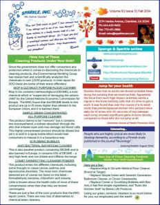 atlanta house cleaning newsletter - fall 2014