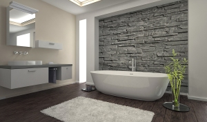 Clean modern bathroom - Atlanta house cleaning blog