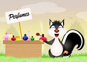 skunk sells perfumes