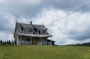 House Falling Apart