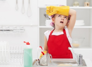 kitchen cleaning tips | Sponge & Sparkle Cleaning